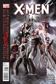 X-Men #1 Curse Of The Mutants (2010) Marvel comic book